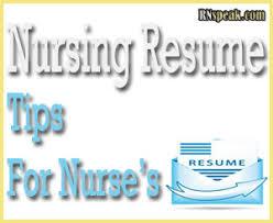 resume for a registered nurse template nursing resume tips for nurses nursing journal