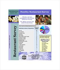 survey templates 17 word pdf documents download