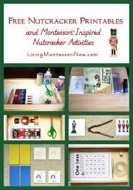 nutcracker printables montessori inspired nutcracker activities