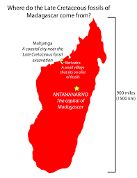Map Of Madagascar Episode 1 Field Guide Finding Fossils In Madagascar Past Time Paleo