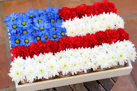 diy 4th of july themed centerpiece fiftyflowers the blog