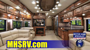 Motor Home Interiors 2013 Holiday Rambler Endeavor Luxury Diesel Rv Review At Motor