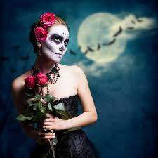 12 halloween sugar skull makeup ideas for women