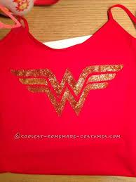 Homemade Woman Halloween Costume Transform Red Shirt Diy Woman Costume