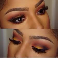 eyeshadow tutorial for brown skin gorgeous sunset eye makeup for brown skin makeup for brown eyes