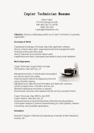 System Analyst Sample Resume 28 Sample Resume Printer Technician Oil Field Service