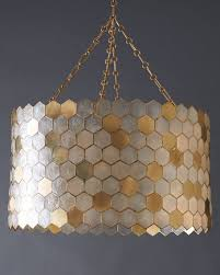 Capiz Light Pendant Capiz 3 Light Pendant