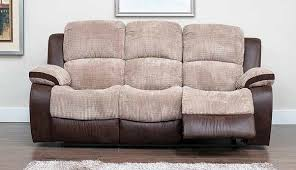 3 seater recliner sofa glamorous 3 seat reclining sofa seater fabric beige salevbags