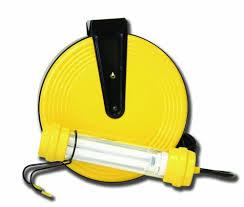 bayco led portable work light bayco sl 827 osha 13 watt fluorescent work light on 50 foot metal