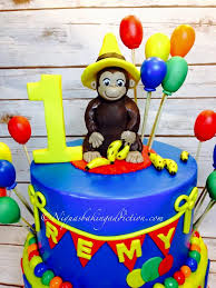 curious george cakes curious george 1st birthday cake cakecentral