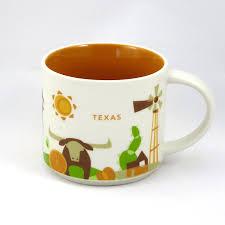 amazon com starbucks you are here texas mug coffee cups u0026 mugs