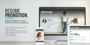 animated resume animated wordpress themes u0026 templates free u0026 premium creative