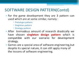 software design pattern strategy software engineer a unity 3d game