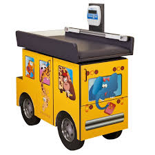 Pediatric Exam Tables Scale Table Zoo Bus With Jungle Friends1 Fun Series Scale Tables