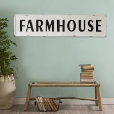 extra large metal farmhouse sign country farmhouse rustic