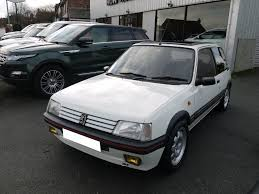 peugeot 205 gti used peugeot 205 for sale skelmersdale lancashire