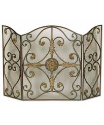 home decor home accents fireplace screen