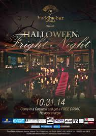 lifestyle halloween party stylish halloween best at buddha bar manila u0027s halloween fright