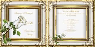 50th wedding anniversary program eddilisa s i 39m worried that it will take away from back of
