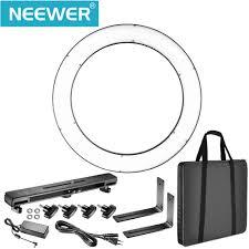 neewer led ring light online shop neewer dvr 160tvc outer 3200 5600k smd led ring light
