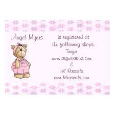 wedding registry card wording baby shower gift registry baby shower gift ideas