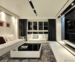 Fancy Living Room by Amusing Design Ideas Using Oval Black Glass Tables And Rectangular