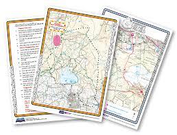 Running Map Route by Portfolio All Weather Running Maps Dalton U0026 Co Printers Ltd