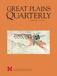 gpq volume 36 center for great plains studies university of
