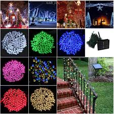 Christmas Lights Solar Powered by Online Buy Wholesale Led Christmas Lights Solar Powered From China