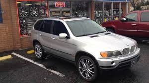 2002 bmw x5 custom 2002 bmw x5 sitting on 22 vct rims at rimtyme n c