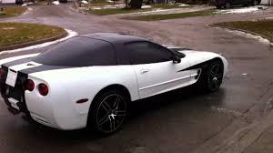 c5 corvette black 1999 arctic white black c5 corvette coupe walk around