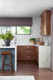 mid century modern walnut kitchen cabinets mid century modern kitchen renovation home bunch interior