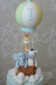 air cake topper hot air balloon cake by designed by cakes cake decorating