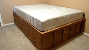 temporary bed frame queen bed frame with drawer storage temporary