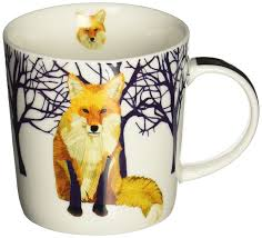 Design Mugs by Amazon Com Paperproducts Design Winter Solstice Fox Porcelain