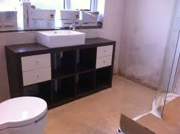 ikea floating bathroom vanity using kitchen cabinets units ideas