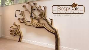Tree Of Knowledge Bookshelf Building A Tree Bookshelf Wall Feature By Bespoak Interiors Youtube