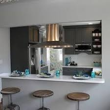 Bar Kitchen Design Opening A Wall Up In A Galley Kitchen Design Ideas Pictures