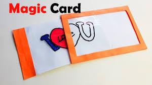 how to make magic card diy magic card paper magic diy crafts
