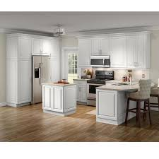 home depot kitchen base cabinets benton assembled 36x34 5x24 5 in base cabinet with soft extension drawer in white