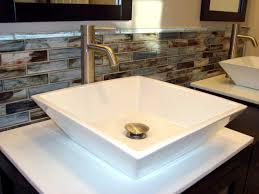 bathroom tile backsplash ideas glass tile backsplash ideas magnificent glass tile backsplash in