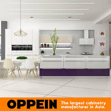 kitchen cabinets what color table item modern purple lacquer wooden kitchen cabinet with dining table op16 l10