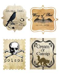free printable halloween labels 12 best photos of vintage halloween labels printable halloween