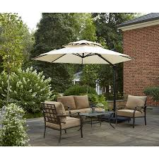 Garden Treasures Patio Chairs Inspirations Amusing Brown Garden Treasure Lowes Patio Umbrellas