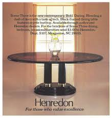 Henredon Dining Room Set by Heritage Henredon Furniture Advertisement Gallery