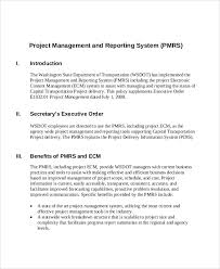 sample project management report 6 examples in pdf word