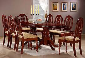 Dinette4less chair dining room table and chairs charming design rustic 6 seat