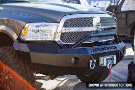 dodge ram push bumper iron cross 22 615 13 winch front bumper with push bar dodge ram