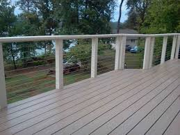 fence ideas you need to know before choosing cable railings deck