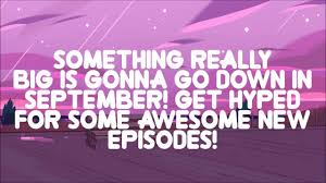 steven universe new season 4 episodes schedule september youtube